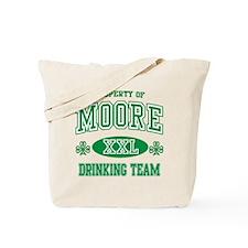 Moore Irish Drinking Team Tote Bag