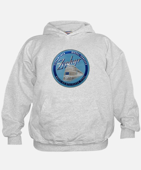 Zephyr engine luggage tag Sweatshirt