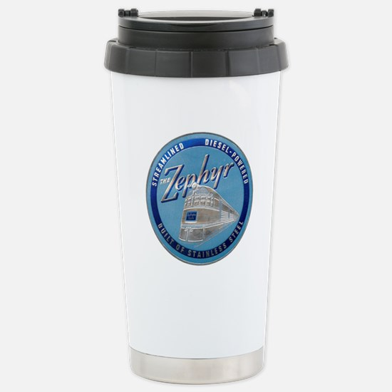 Zephyr engine luggage t Stainless Steel Travel Mug