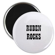 RUBEN ROCKS Magnet
