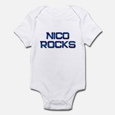 nico rocks Infant Bodysuit