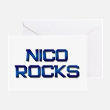 nico rocks Greeting Card