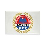American Veterans Rectangle Magnet (10 pack)