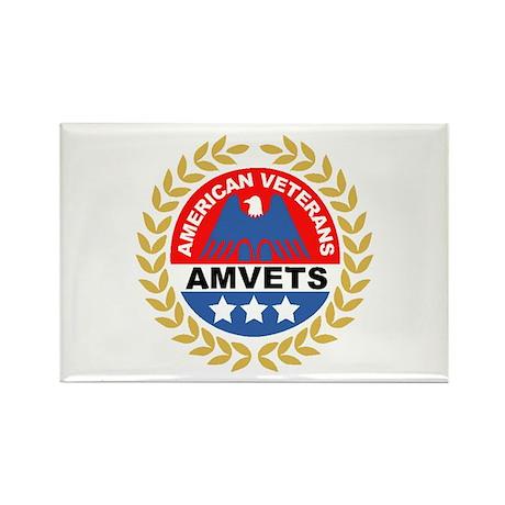 American Veterans Rectangle Magnet