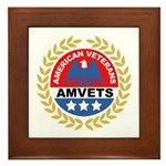 American Veterans Framed Tile