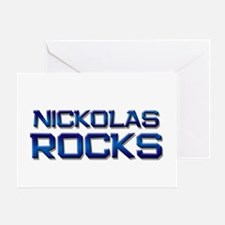 nickolas rocks Greeting Card