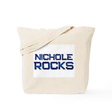 nichole rocks Tote Bag