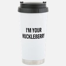 I'm Huckleberry Stainless Steel Travel Mug