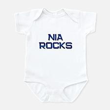 nia rocks Infant Bodysuit