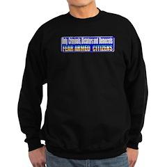 Dictators & Democrats Sweatshirt (dark)