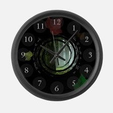 Twilight Forks Large Wall Clock