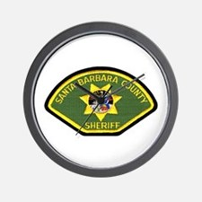 Santa Barbara Sheriff Wall Clock