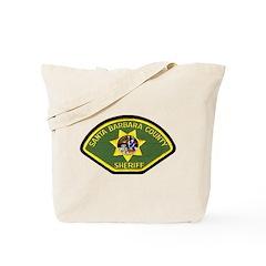 Santa Barbara Sheriff Tote Bag