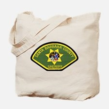 Santa Barbara Sheriff Tote Bag