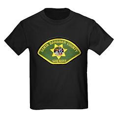 Santa Barbara Sheriff Kids Dark T-Shirt