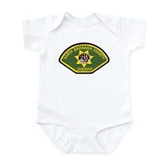 Santa Barbara Sheriff Infant Bodysuit