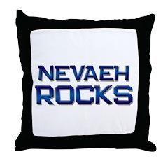 nevaeh rocks Throw Pillow