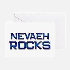 nevaeh rocks Greeting Card
