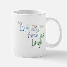 Live, Love, Laugh Mug