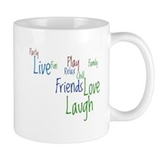 Live, Love, Laugh Small Mug