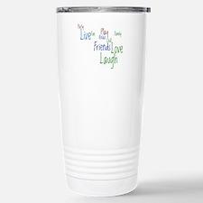 Live, Love, Laugh Travel Mug