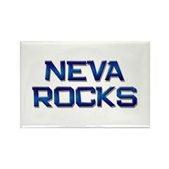 neva rocks Rectangle Magnet
