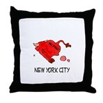 WALL STREET NYC Throw Pillow