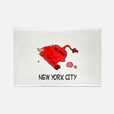 WALL STREET NYC Rectangle Magnet