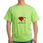 WALL STREET NYC Green T-Shirt