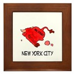 WALL STREET NYC Framed Tile