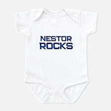 nestor rocks Infant Bodysuit