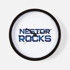 nestor rocks Wall Clock