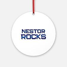 nestor rocks Ornament (Round)