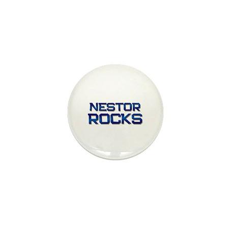 nestor rocks Mini Button