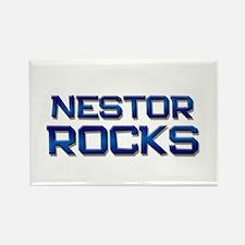 nestor rocks Rectangle Magnet