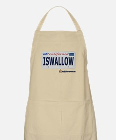 ISWALLOW License Plate BBQ Apron