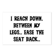 REACH DOWN BETWEEN MY LEGS Postcards (Package of 8