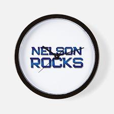 nelson rocks Wall Clock
