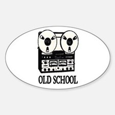 OLD SCHOOL (TAPE DECK) Decal