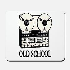 OLD SCHOOL (TAPE DECK) Mousepad