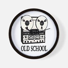 OLD SCHOOL (TAPE DECK) Wall Clock