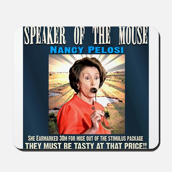 Speaker of the mouse Mousepad