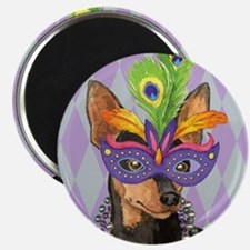 Party Min Pin Magnet