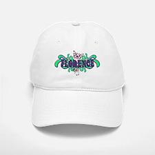 Florence's Butterfly Name Baseball Baseball Cap