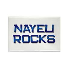 nayeli rocks Rectangle Magnet