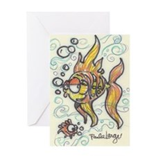 Cute Kids under the sea Greeting Card