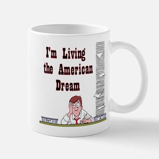 Living the American Dream - N Mug
