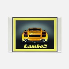 """Lambo Gallardo"" Rectangle Magnet"