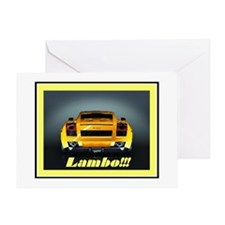 """Lambo Gallardo"" Greeting Card"