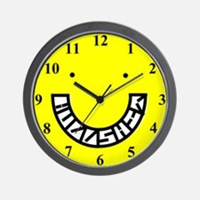 SON OF SMILEY Wall Clock
